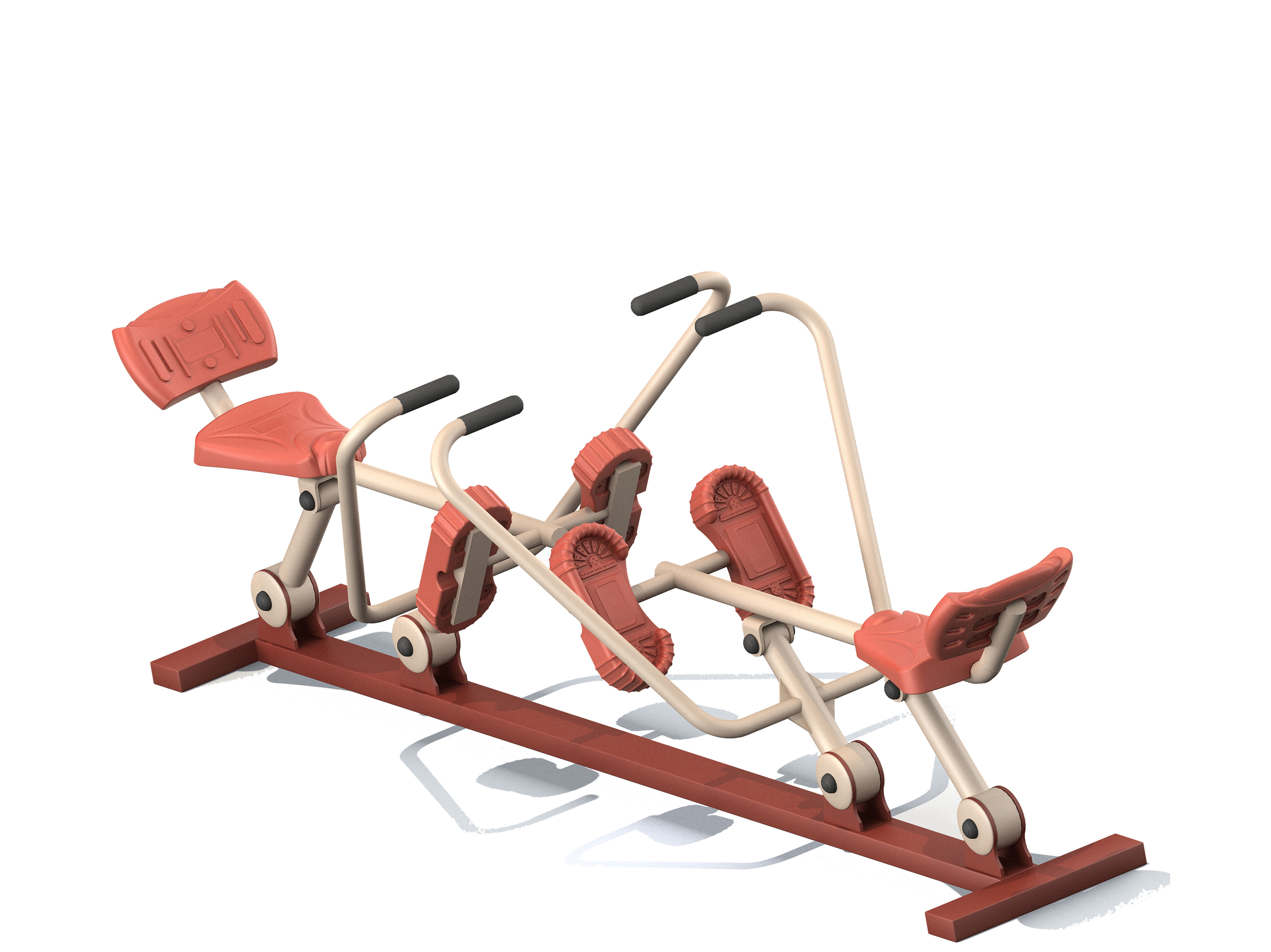 Double Rower Machine Trainer