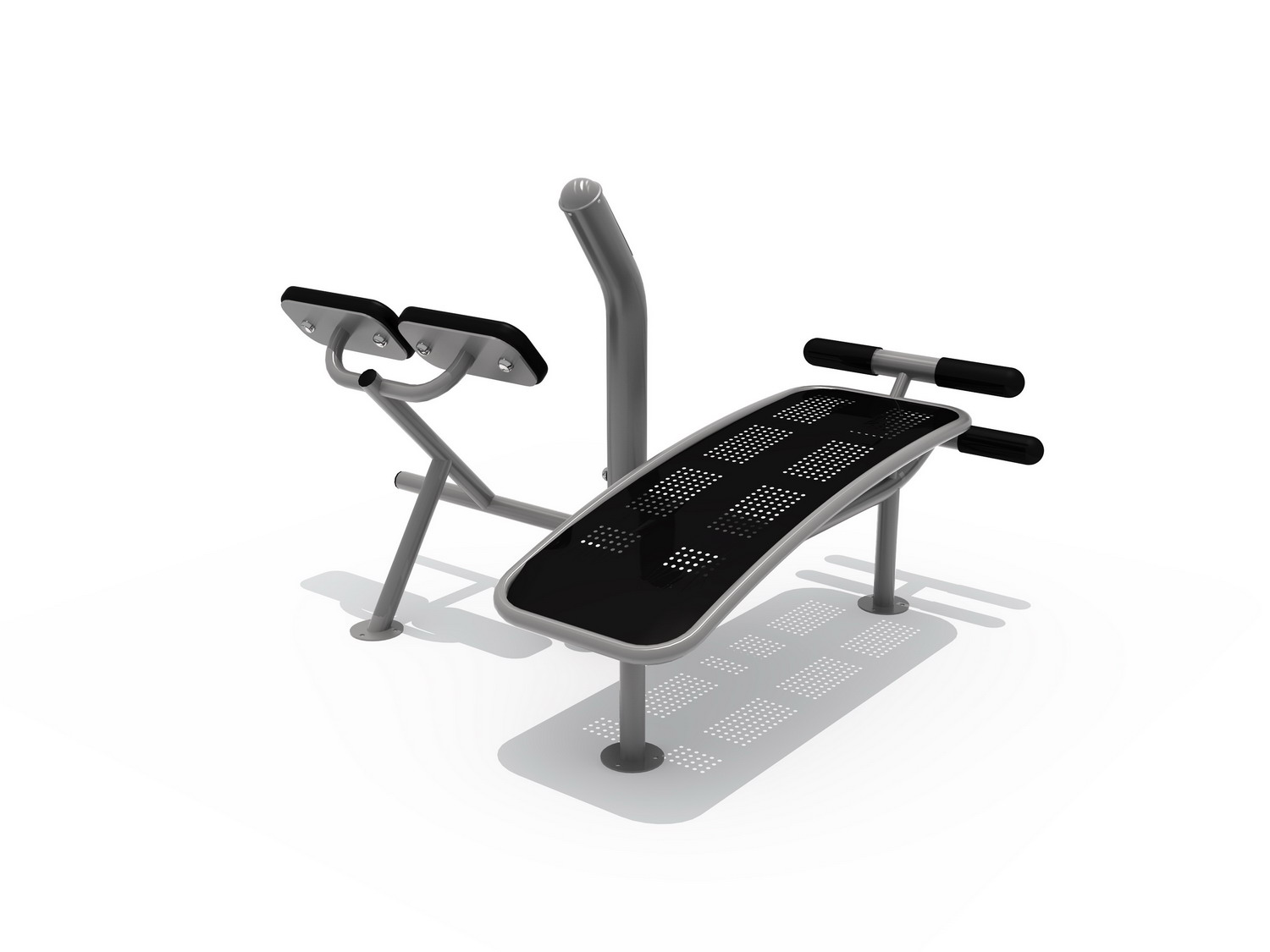 Sit-up & Back Extension Trainer