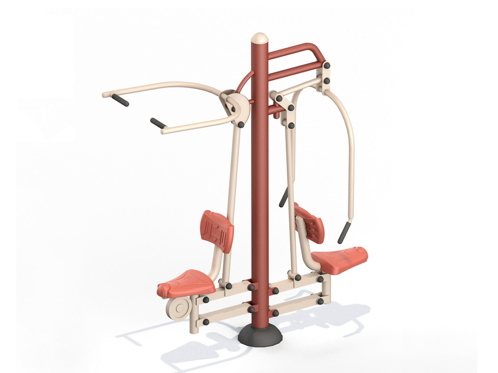 Lat Pull Down & Seated Chest Press